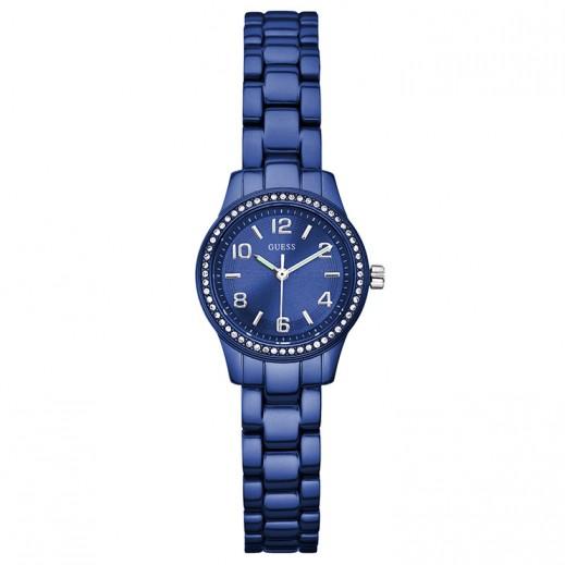 جيس - ساعة للنساء، أزرق  - يتم التوصيل بواسطة التوصيل خلال 2 أيام عمل بواسطة بيضون