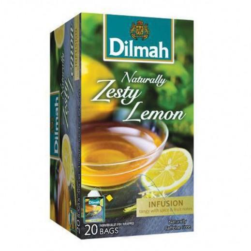 دلما – شاي دلما بالأعشاب والليمون الحريف 1.5 جرام (20 كيس)