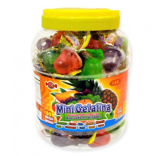ميني جيلاتينا - حلوى الفواكة 1550 جم