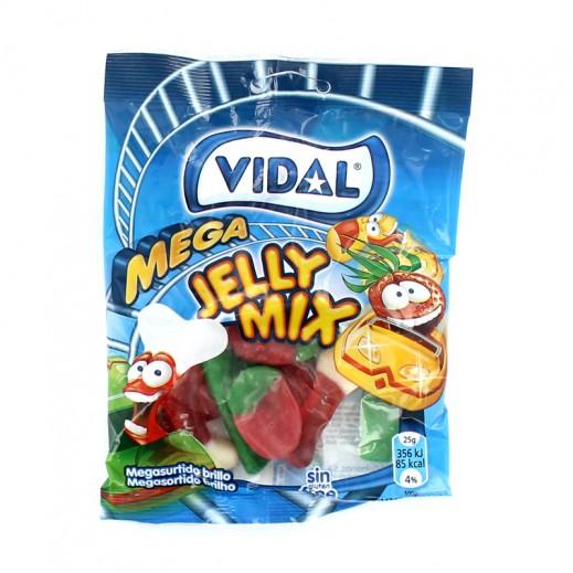 فيدال – حلوى جيلي ميجا ميكس 100 جم