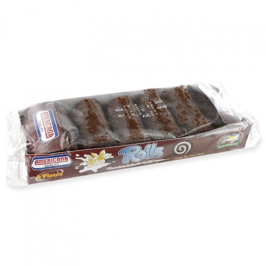 أمريكانا - ميني رول بالشوكولاتة - 6 حبة في 150 جم