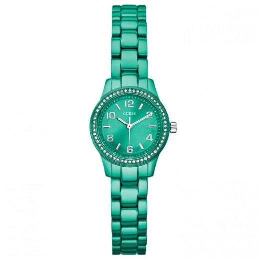 جيس - ساعة كوارتز للنساء، أخضر - يتم التوصيل بواسطة التوصيل بعد 3 أيام عمل بواسطة بيضون
