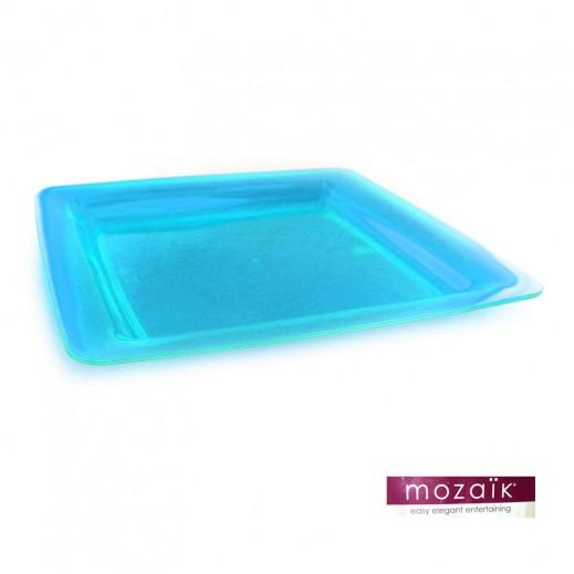 موزايك – أطباق مربعة زرقاء 23 سم (6 حبة)