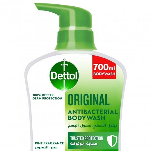 ديتول - غسول الجسم الأصلى المضاد للبكتيريا بالصنوبر - 700 مل