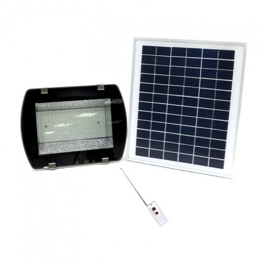 كشاف يعمل بالطاقة الشمسية وبريموت كنترول 10 واط