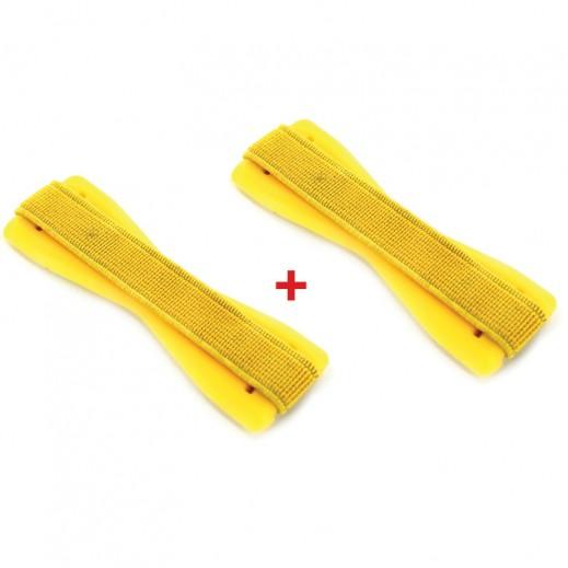 اشتر واحد واحصل على الثاني مجانا مقبض للجوال اصفر