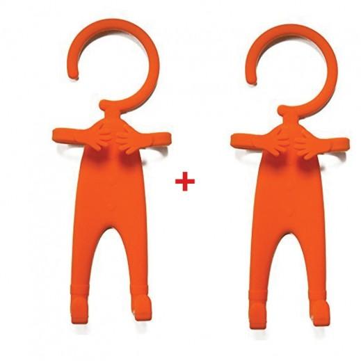 اشتر واحد واحصل على الثاني مجانا قاعدة تثبيت مرنة للهاتف - برتقالي