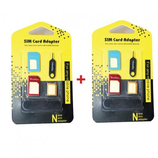 اشتر واحد واحصل على الثاني مجانا حزمة محولات لبطاقة الشريحة