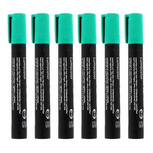 ستدلر – أقلام تعليم بحبر ثابت – أخضر (6 أقلام) – عرض التوفير