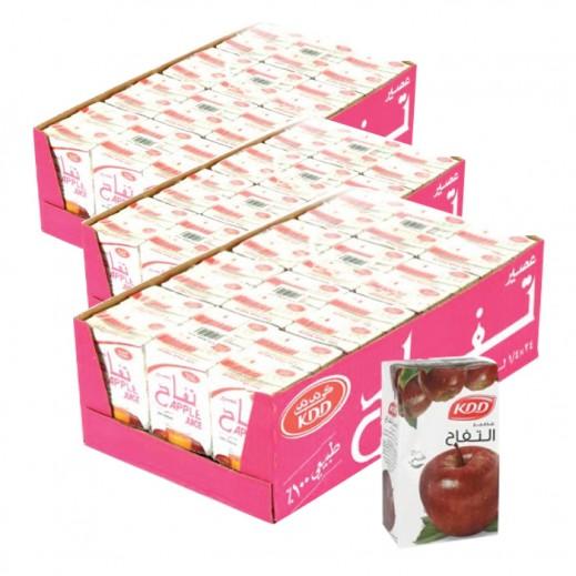 كى دى دى - عصير التفاح 250 مل ( 3 كرتون × 24 حبة ) -  أسعار الجملة