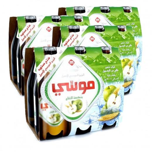 موسي – مشروب الشعير بنكهة التفاح 330 مل ( 4 كرتون × 6 حبة )