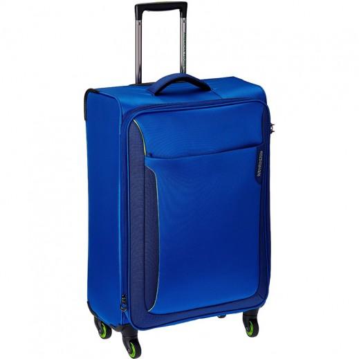 """أميريكان تورستر – حقيبة سفر """"أبلايت""""82 سم  – أزرق مع أخضر"""