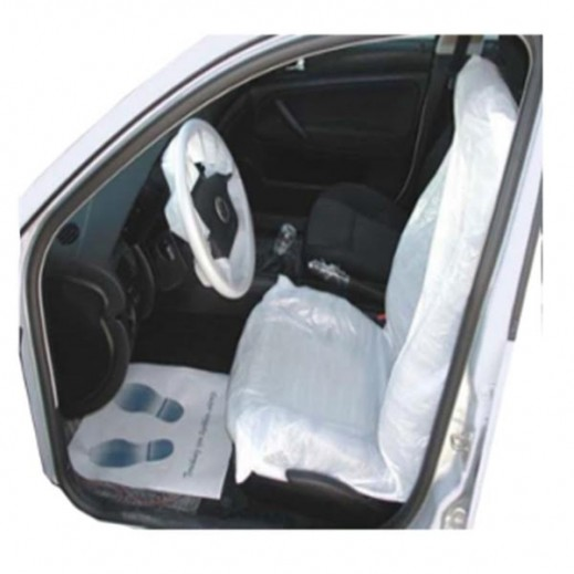 أكياس بلاستيكية لحماية كراسي السيارة