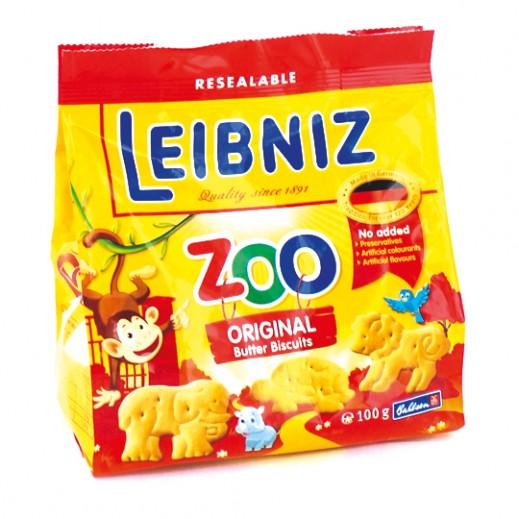 لايبنيز زو – بسكويت بالزبدة على شكل حيوانات للأطفال 100 جم