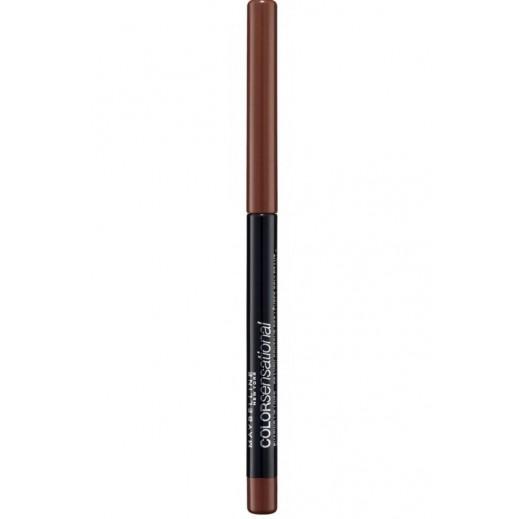 """مابيلين – قلم تحديد الشفاه إكساجيريت """"Color Sensational Shaping"""" درجة 20 لون نود"""