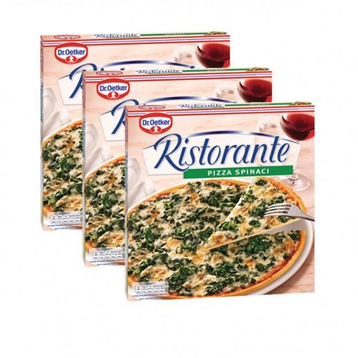 """د.أوتكر – بيتزا """" ريستورانتي"""" جاهزة بطعم السبانخ 3 × 390 جم"""