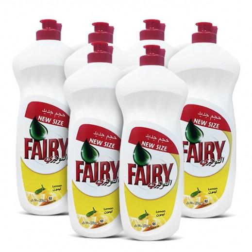 WholeSale - Fairy Dish Wash Liquid With Lemon 750 ml (6 Pieces)