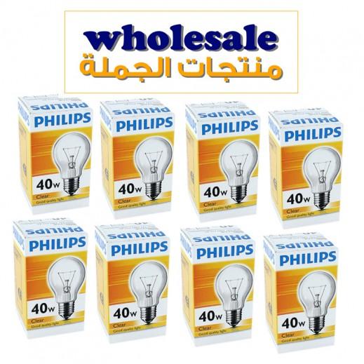 فيليبس – مصباح شفاف E27 – بقوة 40 واط × 30 حبة - أسعار الجملة