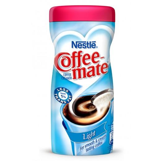 كوفى ميت - مبيض القهوة لايت قليل الدسم خالٍ من الحليب 450 جم