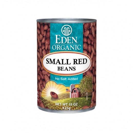 إيدن – فاصولياء حمراء صغيرة عضوية 425 جرام