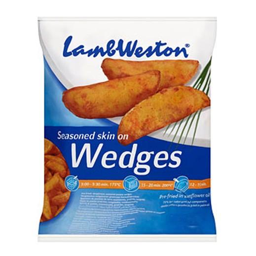 لامب ويستون – شرائح البطاطا المتبلة المقلية مسبقاً (بالقشرة) 2.5 كجم