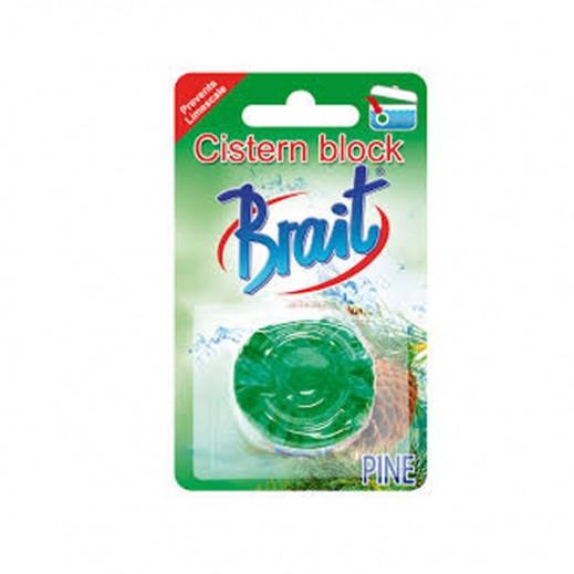 """مطهر أحواض """"برايت"""" برائحة الصنوبر - 50 جرام"""
