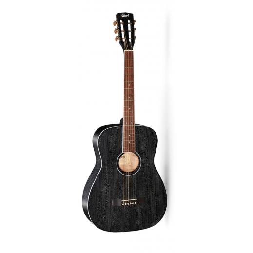 كورت – جيتار صوتي - اسود - يتم التوصيل بواسطة Salmeen