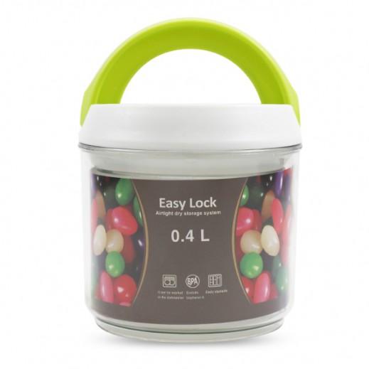 إيزي لوك - وعاء بغطاء بلاستيك (0.4 لتر)