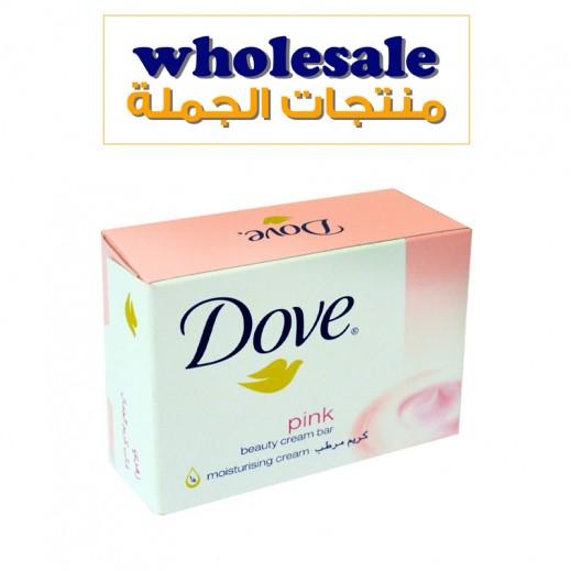 دوف – صابون الإستحمام وردي 135 جم × 24 حبة - أسعار الجملة