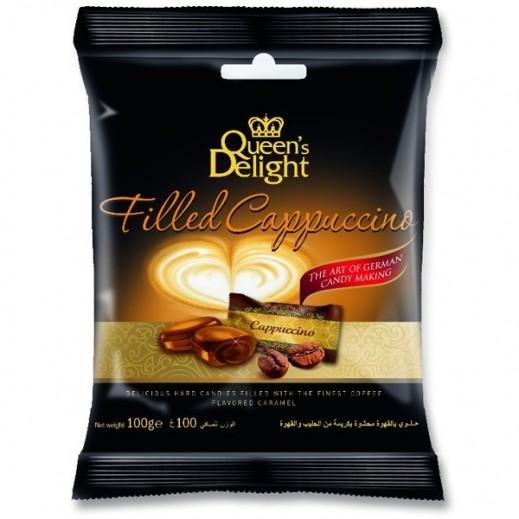 كوينز ديلايت – حلوى بالقهوة محشوة بكريمة الحليب 100 جم