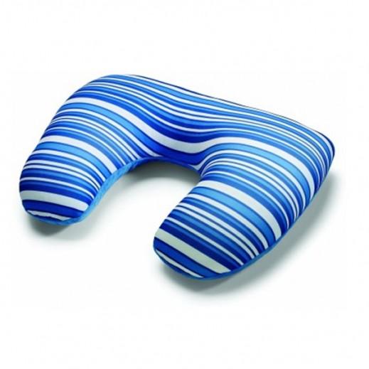 أميركان توريستر – وسادة مستطيلة على شكل حرف U (أزرق داكن)
