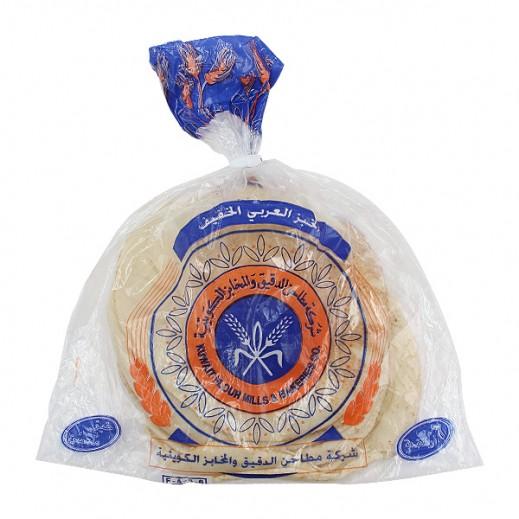 المطاحن – خبز عربي أبيض خفيف -  6 رغيف ( 300 جم )