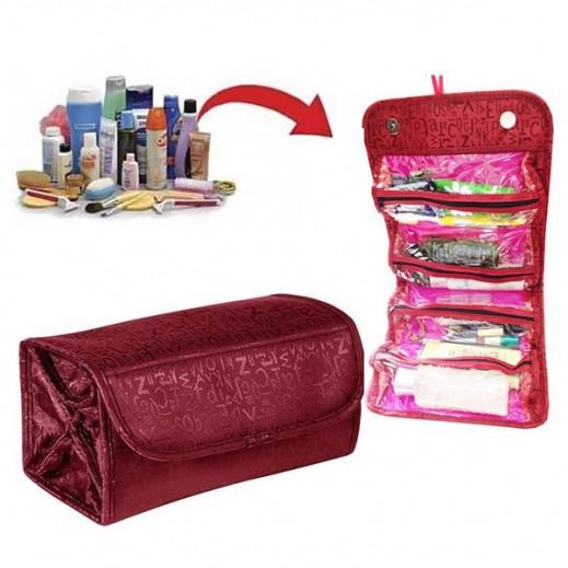 حقيبة قابلة للطي  لمستحضرات التجميل - مارون