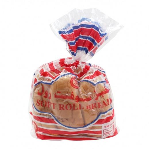 المطاحن - خبز سوفت رول 6 حبة ( 300 جم )