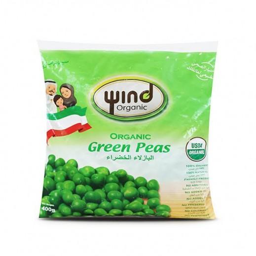 وند – بازلاء خضراء عضوية مجمدة 400 جم