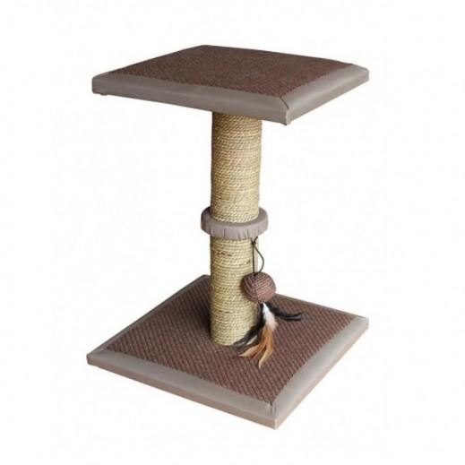 باوايز - كرسي اللعب للقطط مع منصة من طبقتين 35×35×46 سم