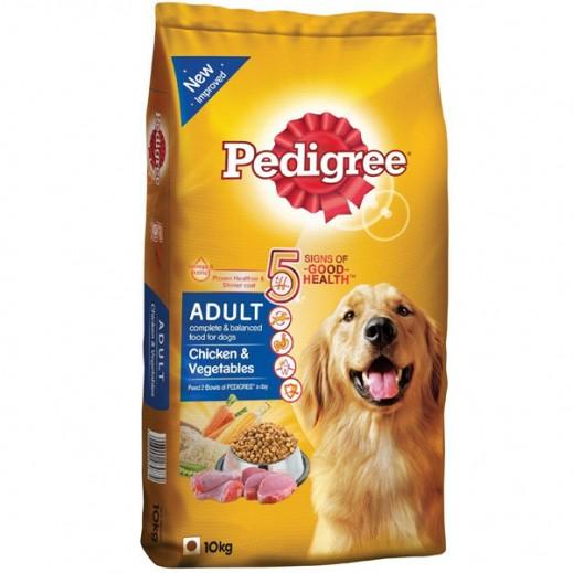 بيدجري –طعام الكلاب بنكهة الدجاج والخضار 10 كجم