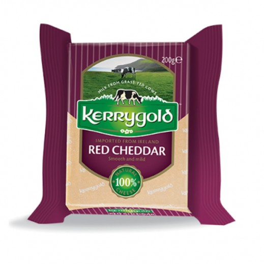 كيري جولد – جبنة شيدر حمراء 200 جم
