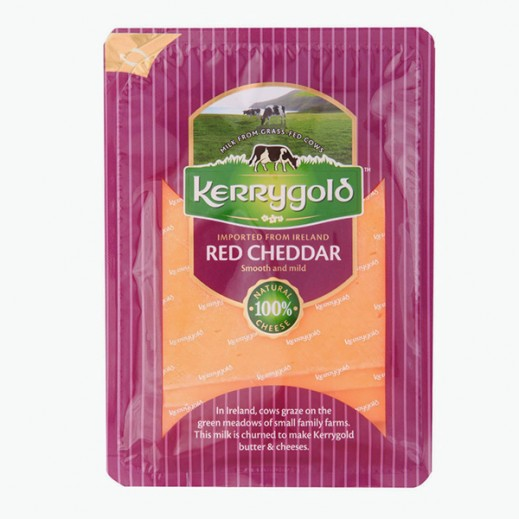 كيري جولد – شرائح جبنة شيدر حمراء 150 جم