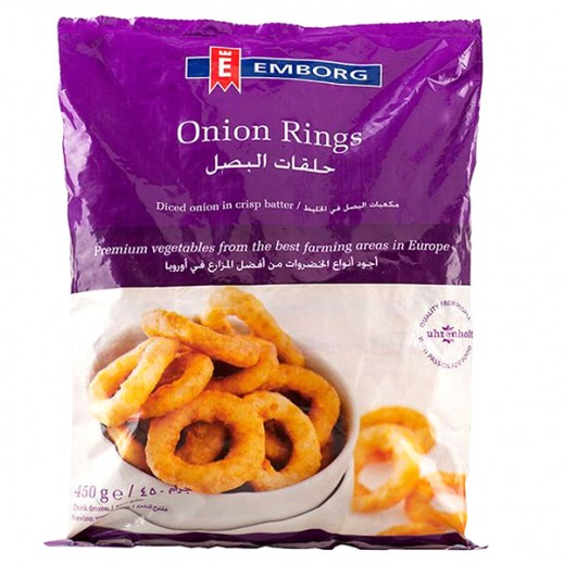 إيمبورج – حلقات البصل المجمدة 450 جم