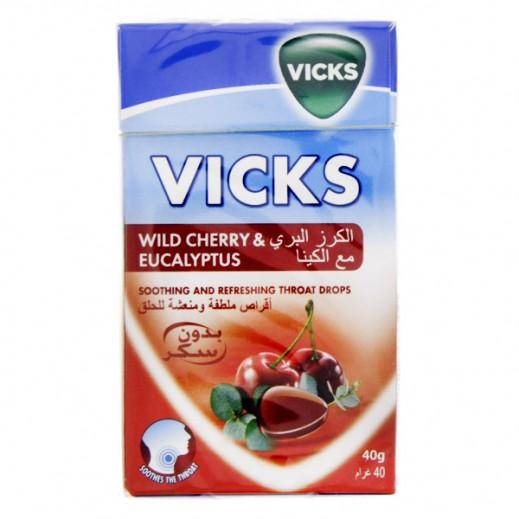 فيكس – أقراص بنكهة الكرز البري لتخفيف حدة السعال 40 جرام
