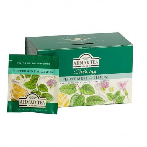 شاي أحمد – شاي انجليزي بنكهة النعناع والليمون 20×1.5 جرام