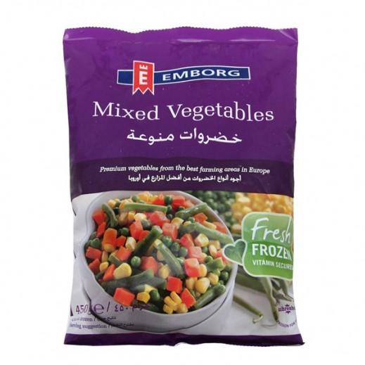 إيمبورج – خضروات منوعة مجمدة 450 جم