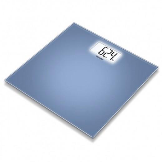 بيورير – ميزان إلكتروني شخصي موديل GS 208 – اللون أزرق