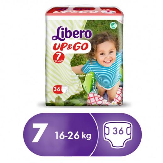 """ليبرو –  كلوت الأطفال """"أب أند جو"""" المرحلة 7 من 16 – 26 كجم 36 حبة"""