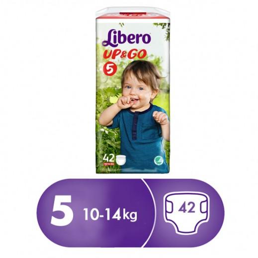 """ليبرو –  كلوت الأطفال """" أب أند جو """" المرحلة 5 ( 10 – 14 كجم ) – 24 حبة"""