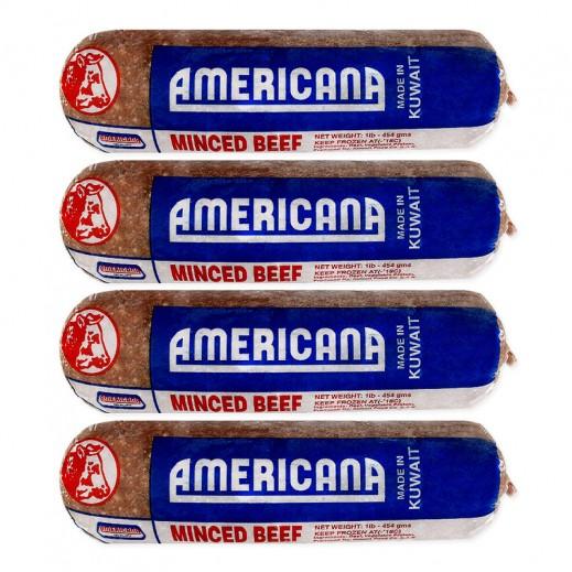 أمريكانا – لحم بيف مفروم 4 × 454 جم