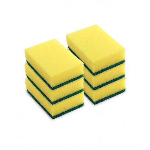 """ﭭيليدا – إسفنجة """"تيب توب"""" لتنظيف الأواني المنزلية 5 قطع + قطعة مجاناً (4 عبوة) - عرض التوفير"""