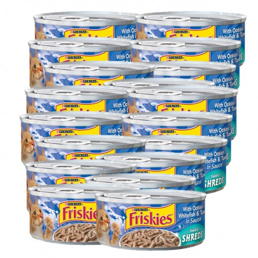 فرسكس – طعام القطط بسمك المحيط الأبيض والتونة مع المرق 156 جم (24 حبة) - أسعار الجملة