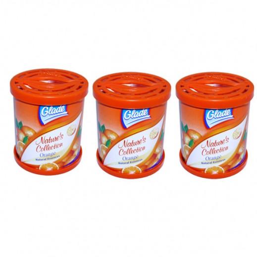 جليد – معطر للجو برائحة البرتقال 70 جم (3 حبة) - عرض التوفير